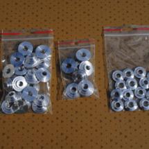 Speciální zakázkové díly,...například duralové misky ventilových pružin